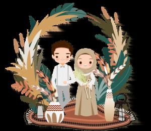 Undangan Nikah couple